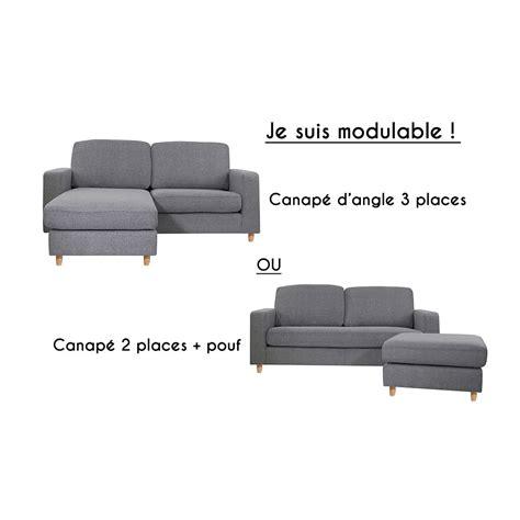 canapé d angle 2 places canapé d 39 angle réversible 2 places rabat gris souris