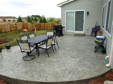 average cost of concrete patio 2 person dining table cheap