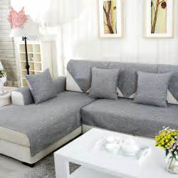 aliexpress com buy grey melange sofa cover slipcovers