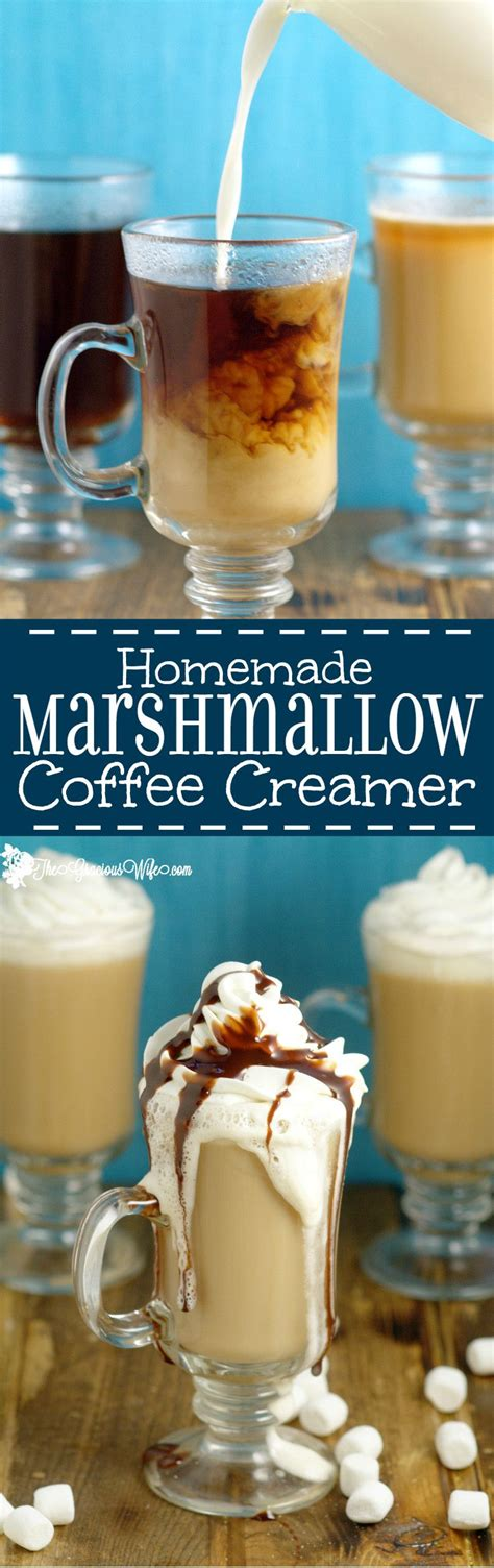 We're equal parts a passionate horde of amiable amateurs and the back room lounge of the coffee industry. Homemade Marshmallow Coffee Creamer | The Gracious Wife