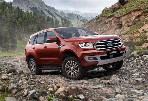 Ford Everest by 2019 Ford Everest Revealed For Australia On Sale Fourth