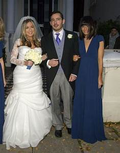 Giles Coren and his wife Esther