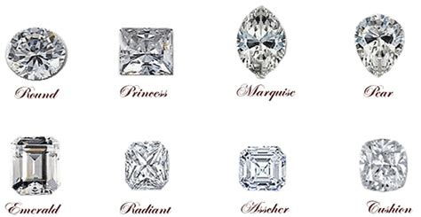 types  diamond cuts rings corrine pinterest