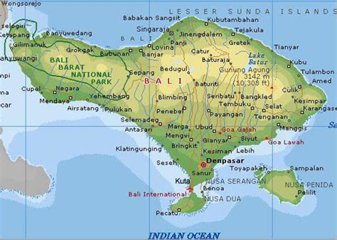 images  places pictures  info indonesia bali map