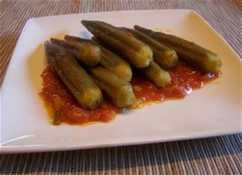 cuisiner le gombo gombos bamya sauce tomate plat du jour recettes de