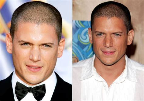 los  famosos  son mas guapos  poco pelo