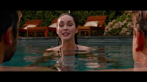 megan fox bikini  pool     p youtube