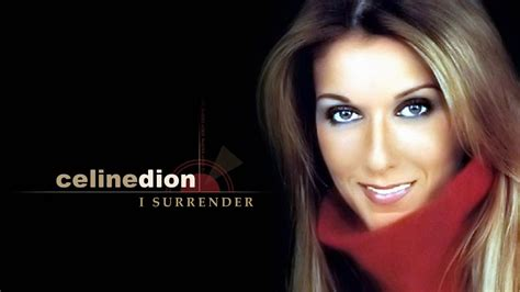 surrender celine dion  video  lyrics youtube