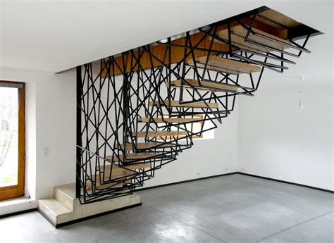 Fancy Staircase Treatments : Sculptured Hand Rails 685f957e