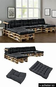 Ou Acheter Un Canapé : acheter des coussins aux dimension des palettes pour ~ Mglfilm.com Idées de Décoration
