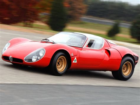 Alfa Romeo 33 Stradale Turns 50, Is Still The Most