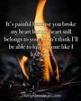 55 Powerful Broken Heart Quotes & Messages - Etandoz