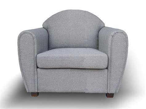 fauteuil club tissu