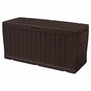 Coffre De Rangement Plastique : coffre de rangement marvel en plastique brun fonc 70 ~ Melissatoandfro.com Idées de Décoration