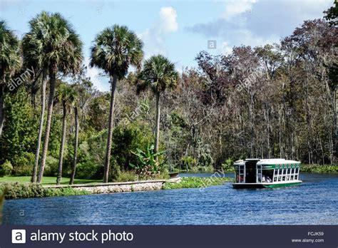 Silver Springs State Park Florida Glass Bottom Boat by Silver Springs Florida State Park Silver River Glass