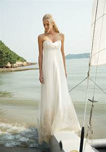 Simply bride looks bridal gowns accessories ideas on for Beach wedding bride dresses