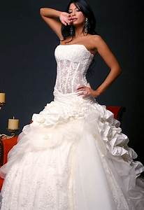 most beautifull dress with corset for evening party wear With corset top wedding dress