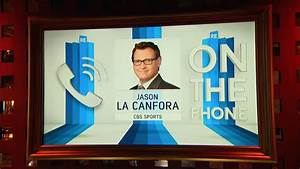 CBS Sports NFL Insider Jason La Canfora Weighs in on Rams ...