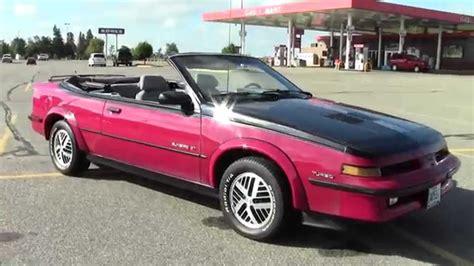 1988 Pontiac Sunbird 2u140102a