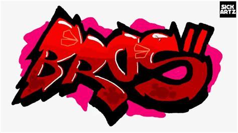 draw graffiti bros youtube