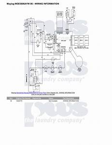 Download Free Pdf For Maytag Mde5806ayw Dryer Manual