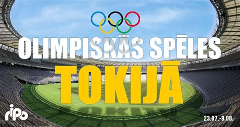 OLIMPISKĀS SPĒLES TOKIJĀ | Radio SWH