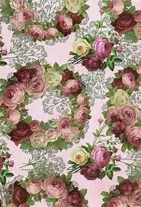 Papier Peint Fleuri Vintage : papier de fond fleuri wallpapers pinterest ~ Melissatoandfro.com Idées de Décoration