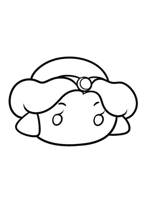 Coloring Tsum Tsum by Tsum Tsum Coloring Pages Coloring Pages
