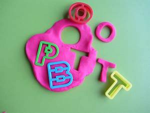 4 fun ways to use play dough for letter recognition With playdough letter cutters