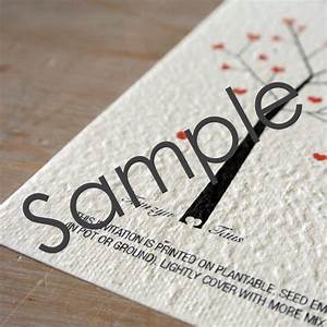 growing love seeded wedding invitations sample little With wedding invitations order online australia