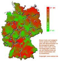 Trinkwasserqualität Deutschland Karte