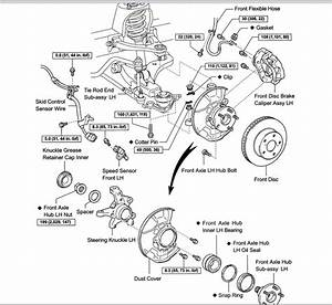 tacoma front suspension diagram tacoma free engine image With 2004 toyota tacoma front wheel bearing diagram
