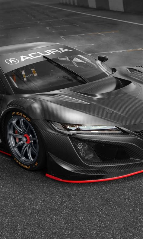 Acura Nsx Iphone Wallpaper by Acura Nsx Gt3 Evo 2019 4k Wallpapers Hd Wallpapers Id