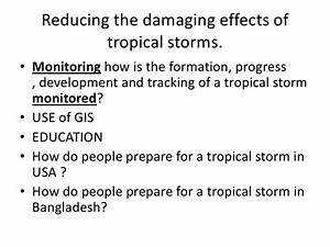 Tropical Storms Revision Guide