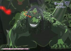 Envy was the fourth Homunculus created by Father, Envy ...