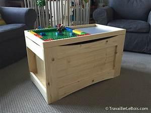 Coffre Jouet Bois : fabrication d 39 un coffre jouets en bois travailler le bois ~ Teatrodelosmanantiales.com Idées de Décoration