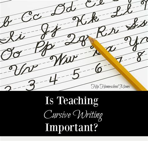 Is Teaching Cursive Writing Important?  Hip Homeschool Moms