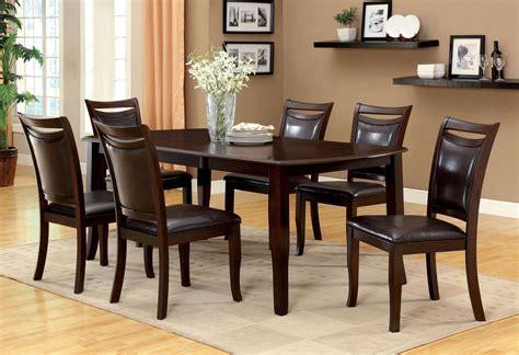 woodside dark cherry rectangular extendable leg dining
