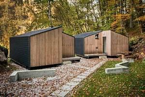 Une Maison Prfabrique Cologique En Bois Cabanes