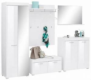 Garderoben Set Weiß Grau : garderoben set amanda 5 tlg online kaufen otto ~ Bigdaddyawards.com Haus und Dekorationen