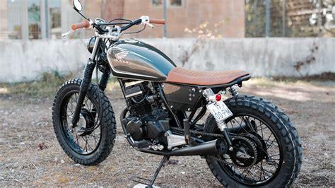 Custom Honda Cm125 By Pedro Bacalhau Youtube