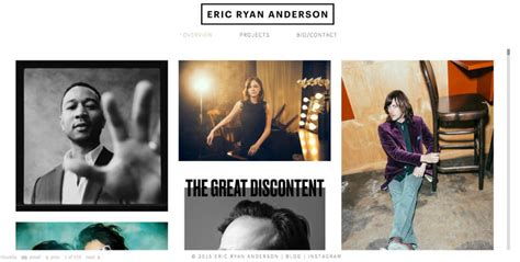 great photographer portfolio websites  inspiration