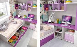 Rangement Chambre Ado : idee rangement chambre fille ~ Voncanada.com Idées de Décoration