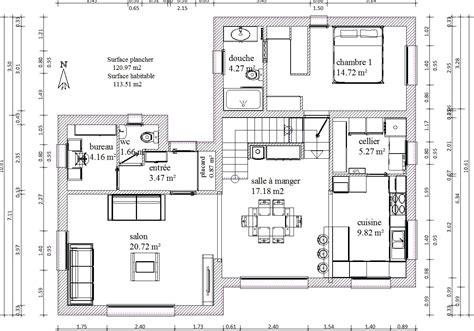cuisine bastide plan maison r 1 120m2 rt2012 254 messages