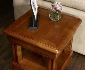 Meuble Bout De Canapé : bout de canap ou table basse en merisier de style louis philipe meuble en merisier massif ~ Preciouscoupons.com Idées de Décoration