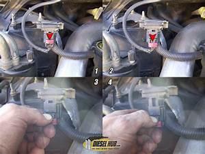 7 3l Power Stroke Map Sensor Replacement Procedures