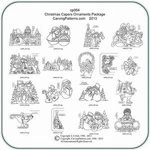 Christmas Capers Patterns – Classic Carving Patterns