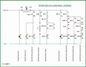 Star Delta Starter Wiring Diagram  Star  Free Engine Image