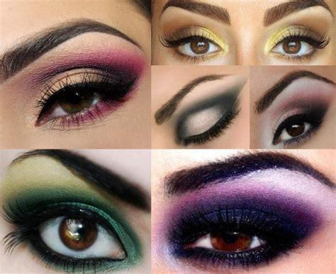 Красивый вечерний макияж для карих глаз пошаговое описание