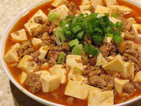 tofu cuisine mapo dofu tofu with rs recipe dishmaps